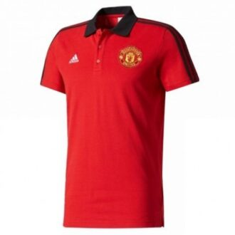 Manchester United Prematch Polo-Red