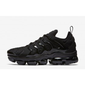 reputable site f302f 906fd Nike-Air Vapormax Plus Triple-Black