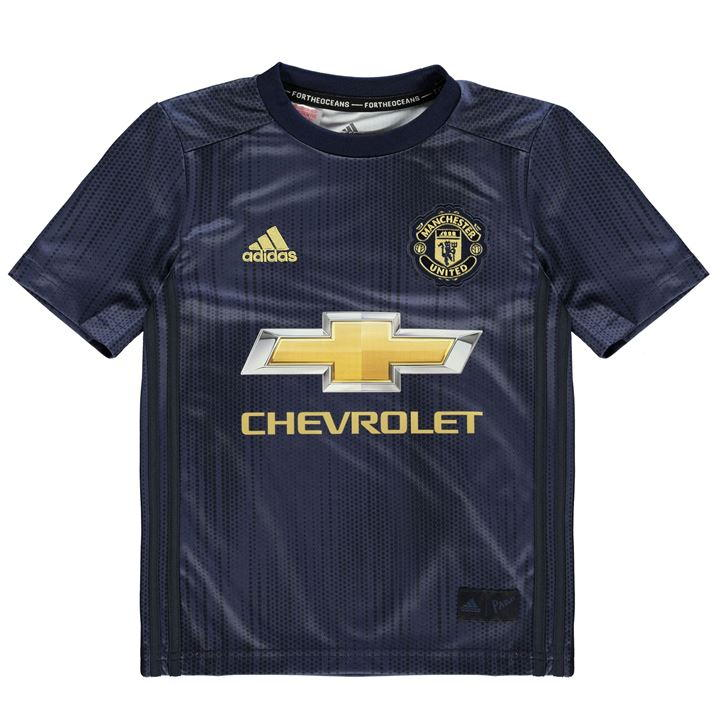 new product 025b9 8c30c Manchester United Third Jersey 2018-2019 for Kids