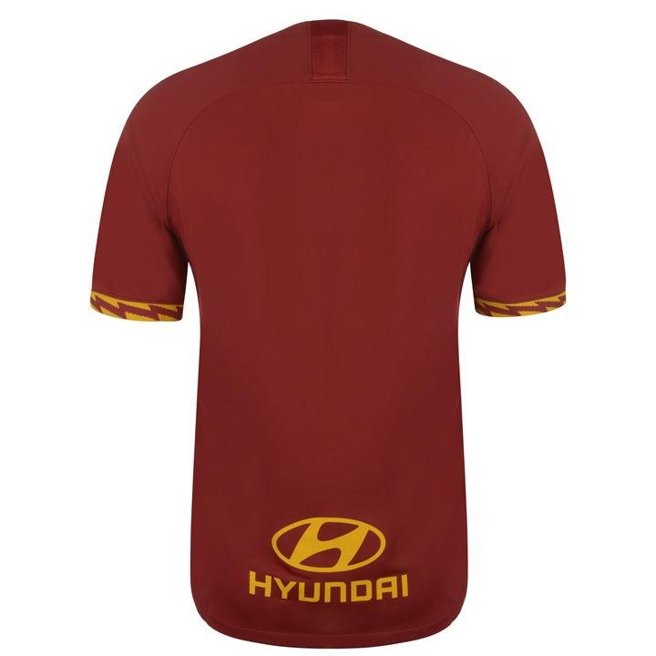 AS Roma Men/'s T shirts Soccer Team Short Sleeve Top Round Neck