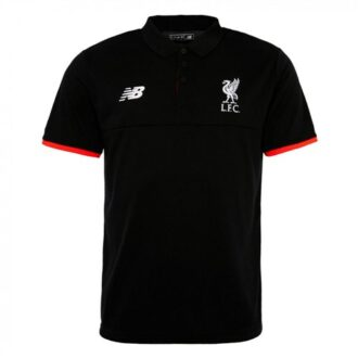 liverpool polo shirt black-pink