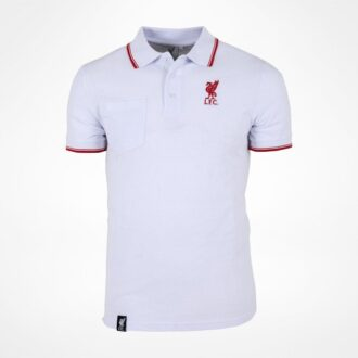 liverpool polo shirt white