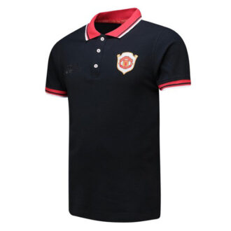 manchester united polo shirt black
