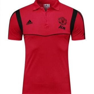 manchester united polo shirt red