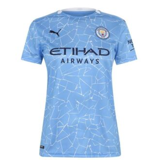 Manchester City 2021 Ladies Home Jersey
